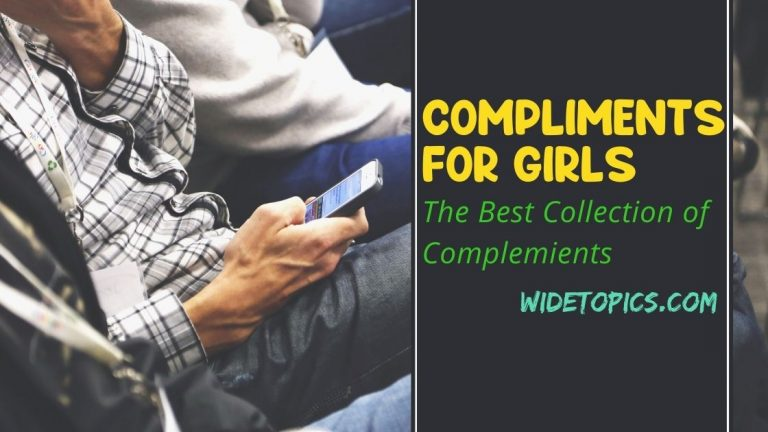A Collection of the Best Compliments for Girls